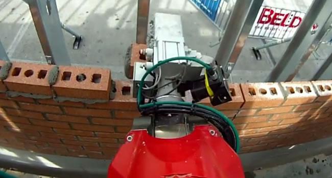 robotica industrial trabajo construccion