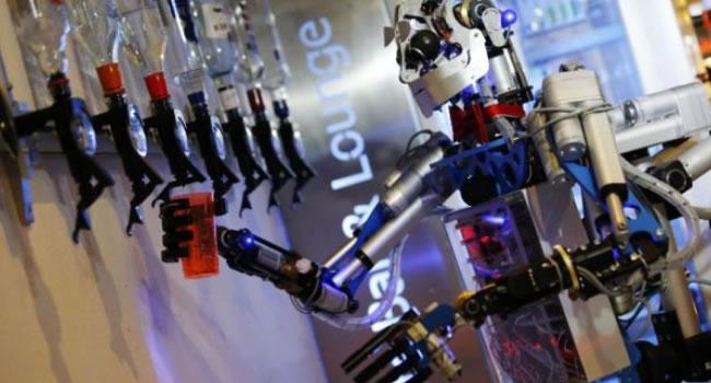 robotizacion del trabajo barman