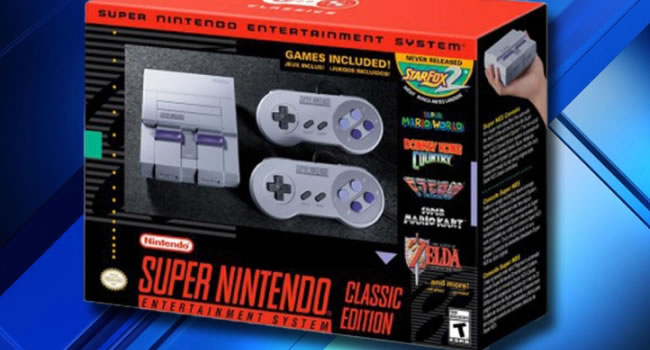 gadgets regalos supernintendo